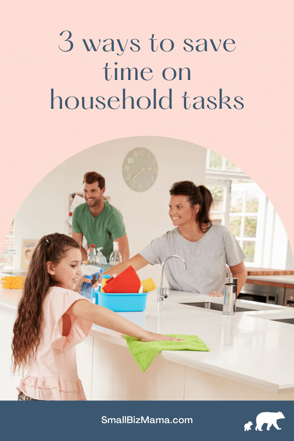 three ways to save time on household chores