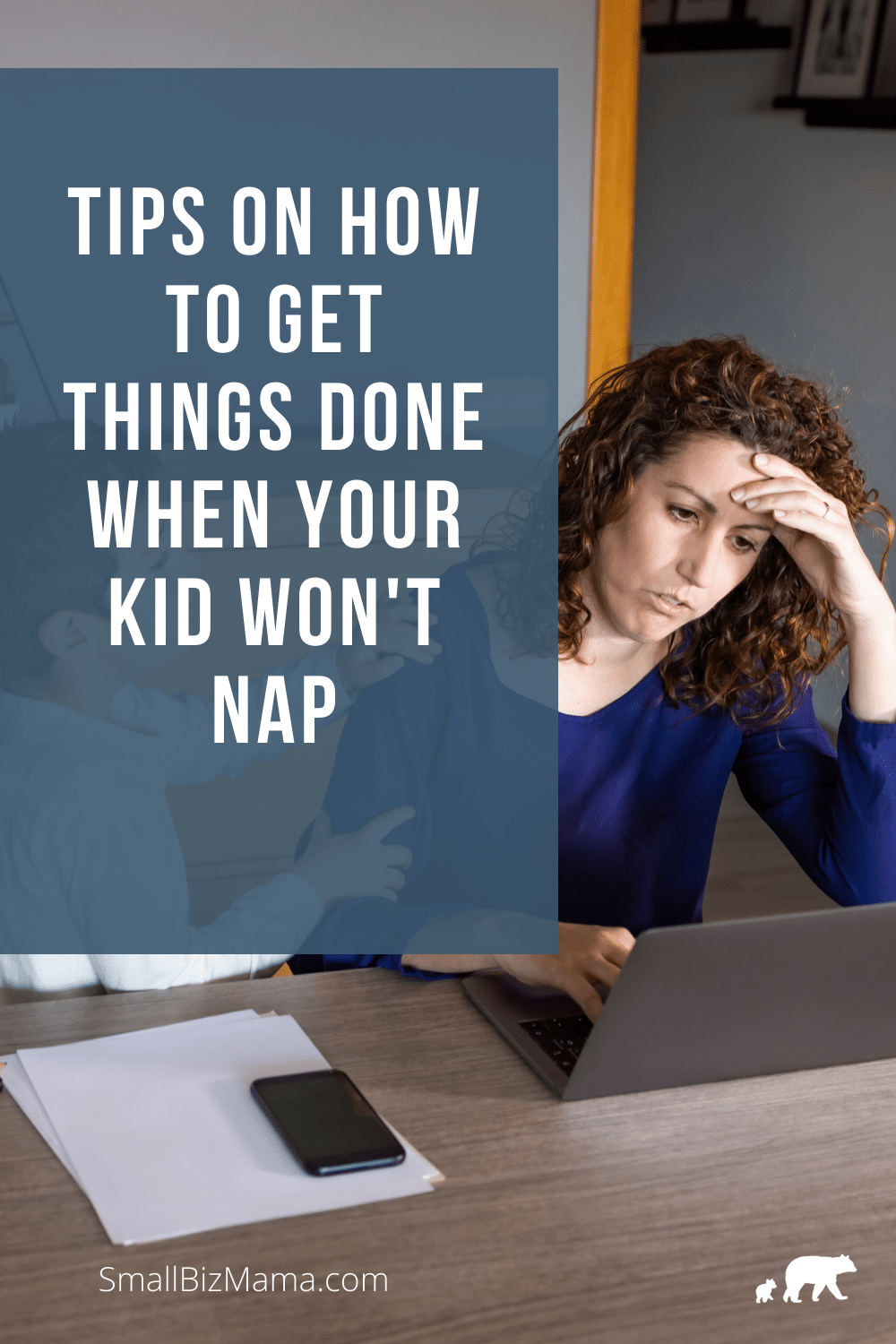 Tips on how to get things done when your kids won't nap