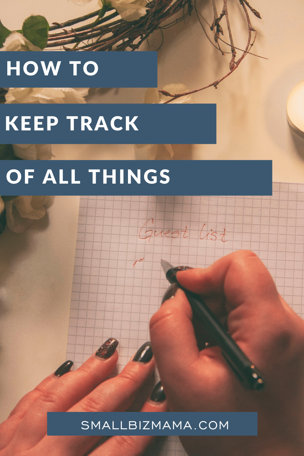 How to keep track of all things