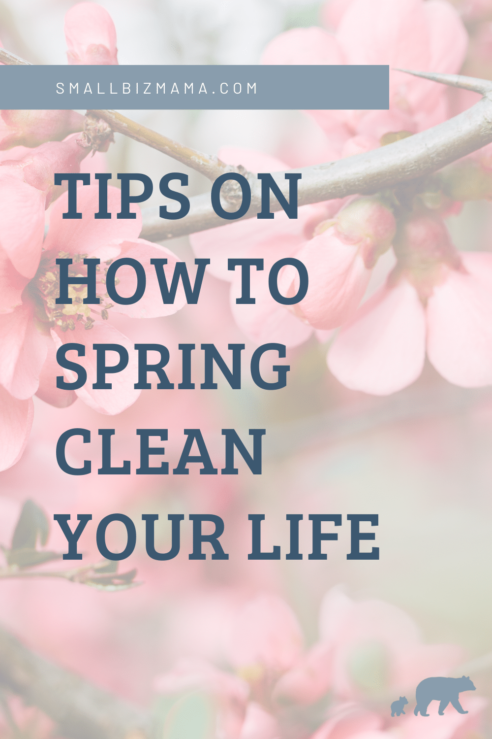 Tips on how to spring clean your life